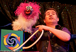 Magic Party, Magician and Ventriloquist at The Magic Circle