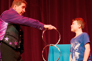 Children's Magician of the year competition.