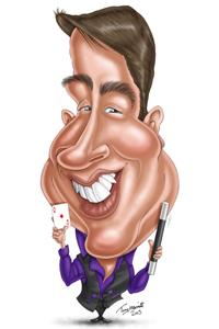 Colin Dymond Caricature